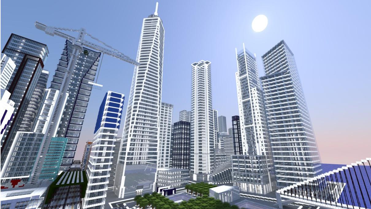 Город в Майнкрафт